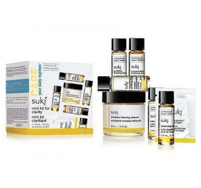sukito-go komplet aktivni tretma za sijočo kožo (mešana do mastna koža)