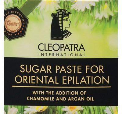 Cleopatra -Sladkorna pasta za egipčansko depilacijo KAMILICA 120g