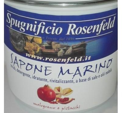 Piling za telo z morsko soljo – Granatno jabolko & pistacija 500g