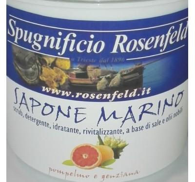 Piling za telo z morsko soljo -  Grenivka & encijanov cvet 500g